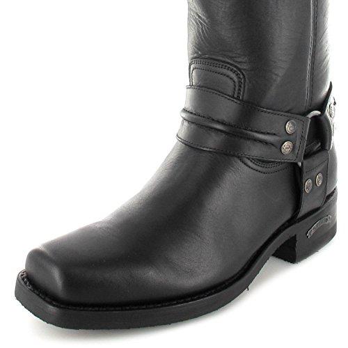 Sendra Boots Stiefel 2380 Bikerstiefel Motorradstiefel (in verschiedenen Farben & Varianten) Loren Negro