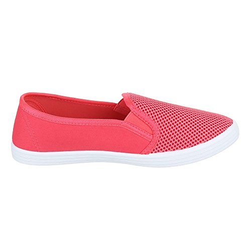 Damen Schuhe, FC16-V13, Halbschuhe MODERNE SLIPPER Coral