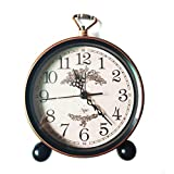 Best Lifetime Alarm Clocks - LambTown 5.5 inch Vintage Retro Alarm Clock Non Review