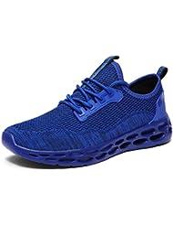 Dorical Sportschuhe für Herren/Männer Running Sneaker Flach Fitness Laufschuhe Leichte Freizeitschuhe Gym Schuhe Schnürsenkel Traillaufschuhe Joggingschuhe für Jungen