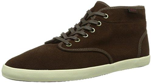 Vans Damen W HOUSTON (FLEECE) ESPRES Sneaker Braun DVB, 37 EU