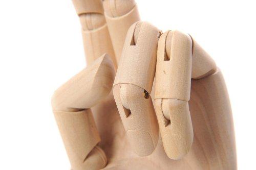 Artistica: Modellhand aus Holz 23.5cm - AMH-23.5cm DE