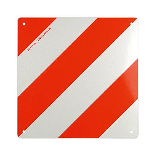 Warntafel für Fahrzeuge Überlänge/Überbreite mit reflektierender Folie • Warnschild Gefahrgut Fahrradträger Wohnwagen Wohnmobil Caravan Traktor