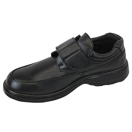 Dr Keller - Chaussures Mocassin à Enfiler Homme Formel Habillé Travail de Bureau Noir - Drpercy