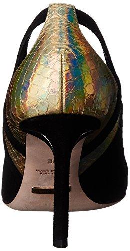 Sebastian S6957, Chaussures à talons - Avant du pieds couvert femme Noir - Schwarz (CANE-ELOR)