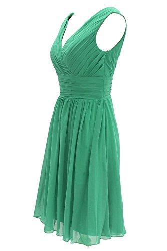 MicBridal -  Vestito  - linea ad a - Donna Verde