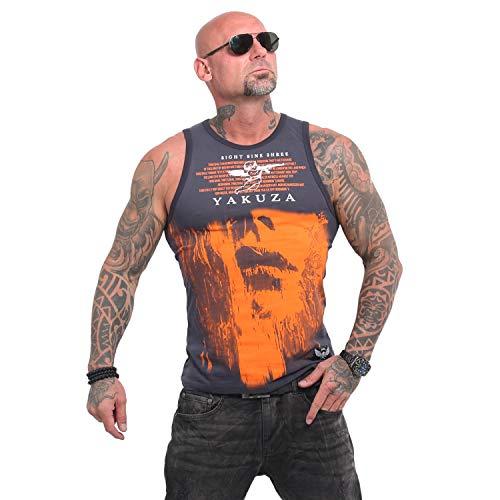 Yakuza Herren Armed Angel Tank Top T-Shirt -
