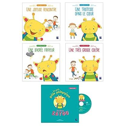Les Albums de Zatou (pack de 4 albums + CD audio + 1 livret pédagogique)