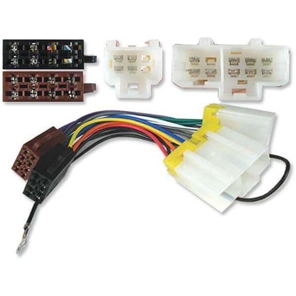 Iso Stereo Adapter Verbindungskabel Für Nissan Micra 83 00 Auto