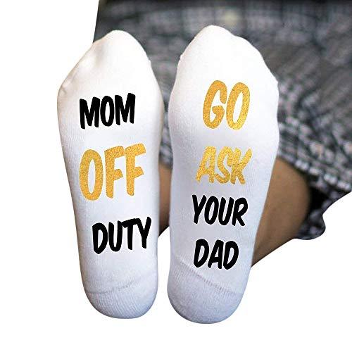 MAYOGO Socken mit Persönlichkeit Brief Drucken Baumwoll sockS-IF YOU CAN READ THIS DO NOT DISTURB-I AM WATCHING THE GAME-Lustig und bequem Freizeit zu Hause