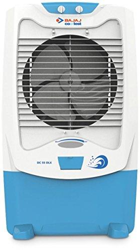 Bajaj DC 55 DLX 54 Ltrs Room Air Cooler (White) - for...