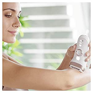 Braun Silk-épil 9 9-561 Wet and Dry Cordless Epilator/Epilation Plus 6 Extras (Compatible with UK 2-Pin Bathroom sockets)