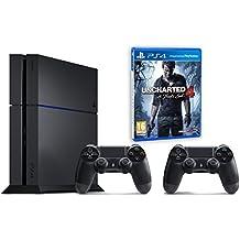 Pack PS4 500Go + 2ème manette + Uncharted 4: A Thief's End