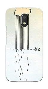 Kaira High Quality Printed Designer Back Case Cover For Motorola Moto E3 Power(347)