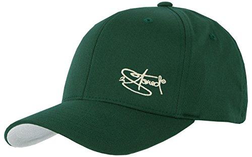 Flexfit Cap Wooly Combed Spurce mit Stick von 2Stoned, Größe XXL (62 cm - 65 cm), Basecap für Herren (Baumwoll-gewebe-panel)