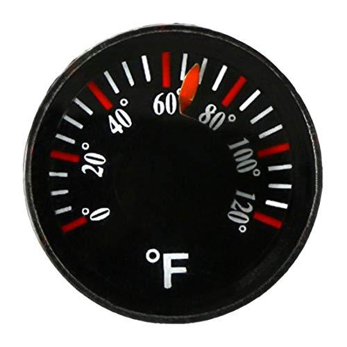 Thermometer Mini Circular Round Plastic 0-120f Durchmesser 20mm