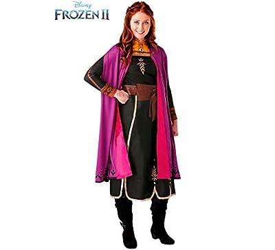 Rubies - Disfraz oficial de Disney Frozen 2, vestido de lujo de Anna, para adultos, talla de Rubie's