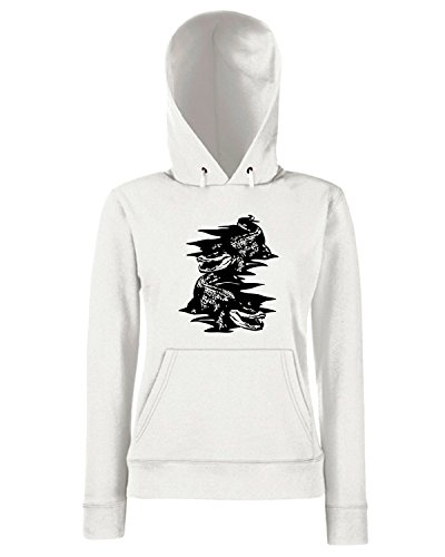 T-Shirtshock - Sweats a capuche Femme FUN0016 01 16 2014 Gators T SHIRT det Blanc