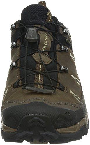 Brown LTR Braun Herren GTX Navajo Black Trekking Ultra Salomon X Absolute X Wanderhalbschuhe zwEqSAFa