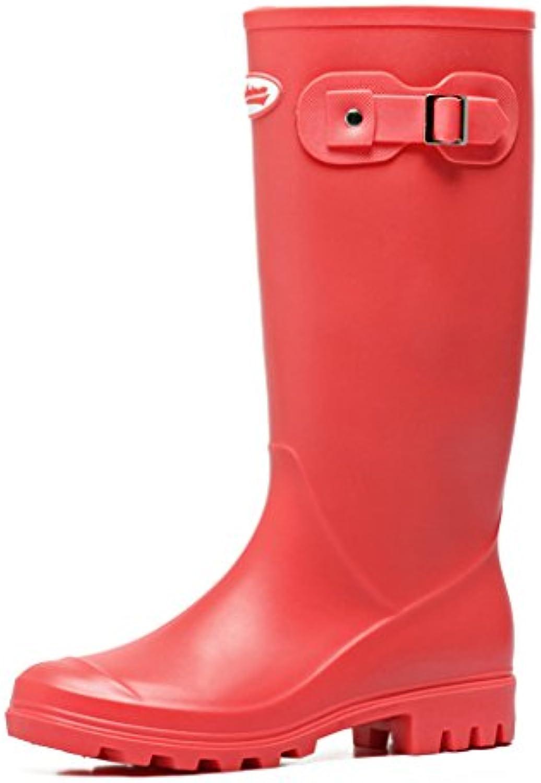 Wellington Lady Rain Boots Botas de Lluvia de Goma, Martin Boots