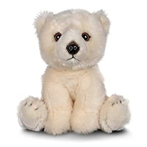 Tobar-Tobar-37245 - Peluche de Oso Polar, Animigos World of Nature, Color marrón