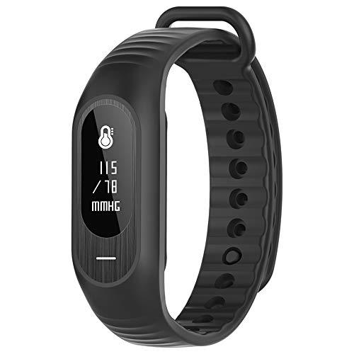 Bluetooth Fitness Activity Tracker Armbanduhr Smart Watch für Android, iPhone, Unisex Schrittzähler Armbanduhr mit Herzfrequenz Blutdruckmessgerät Sleep Tracking Call/Nachricht Reminder Wasserdicht... -