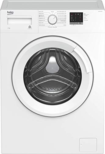 Beko WDW85143 Waschtrockner/ Touch-Display mit Startzeitvorwahl 0-24 H/ Wasserkondensation/ Bluetooth/ XL-Tür/ Prosmart Inverter Motor/ elektrischer Watersafe+/ A/ 8 kg Waschen/ 5 kg Trocknen