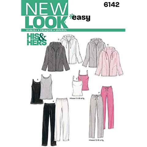 New Look 6142 - Cartamodello per capi