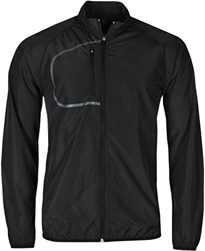 Mens Lightweight Windbreaker Showerproof Active Sports Jacket Packaway