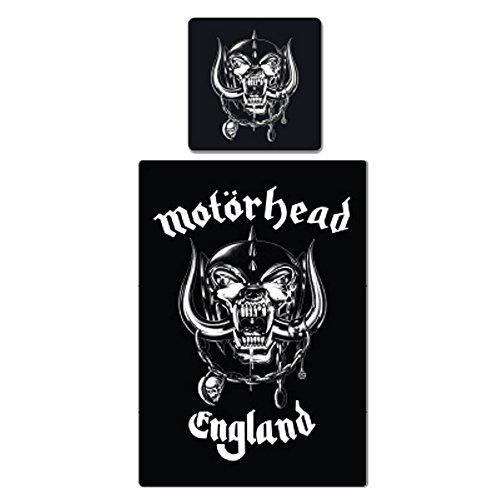 Motörhead-Biancheria da letto-Logo-135x 200cm copripiumino + federa 80x 80cm federa