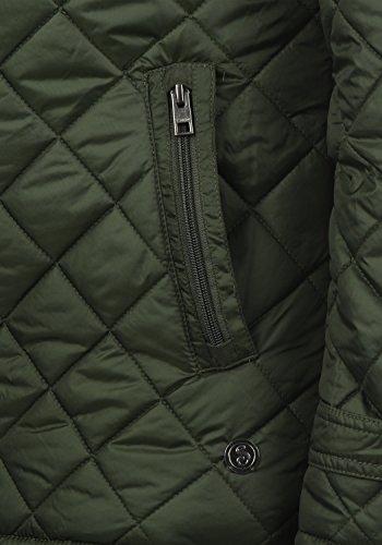 !Solid Safi Herren Steppjacke Übergangsjacke Jacke Mit Stehkragen, Größe:S, Farbe:Rosin (3400) - 5