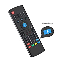 Air Mouse, LESHP 2.4G Wireless Fly Mice and IR Learn Remote for Android Smart TV, IPTV, Networked set-top Box, Mini PC, Android TV Box, HTPC and PCTV.