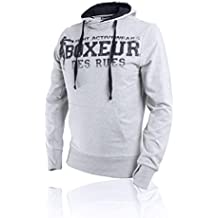 Boxeur Des Rues BXT-4552 - Sudadera de hombre, Gris, M