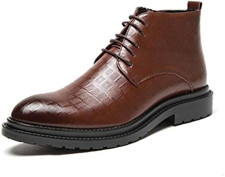 HY Scarpe da Uomo, in Pelle Autunno Inverno A Punta Scarpe da Lavoro Formali, Slip-On Comfort Scarpe da Guida... | Stili diversi  | Scolaro/Ragazze Scarpa