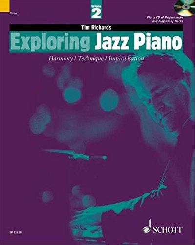 Exploring Jazz Piano Volume 2 +CD - Piano