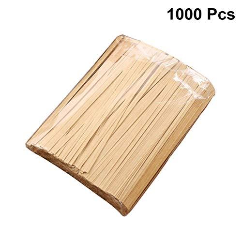 Kjlkljhgfjh 1000 Stück Kraftpapier Twist Tie Lebensmittelverpackungen Versiegelungsbeutel für Party Candy Cake Geschenke - 12 cm (Color : -, Size : -) - Cotton Candy Twist