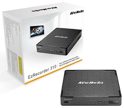 AVerMedia EZRecorder 310 - DVR Enregistreur vidéo HDMI Full HD 1080p, avec Enregistrement à heure programmée (ER310)