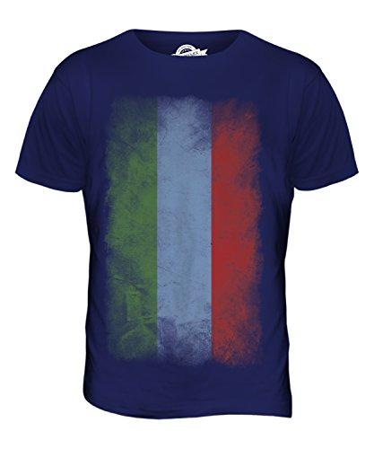 CandyMix Dagestan Verblichen Flagge Herren T Shirt Navy Blau