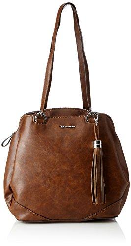 Tamaris Damen Melanie Backpack Rucksackhandtasche, Braun (Cognac), 12 x 30.5 x 27 cm