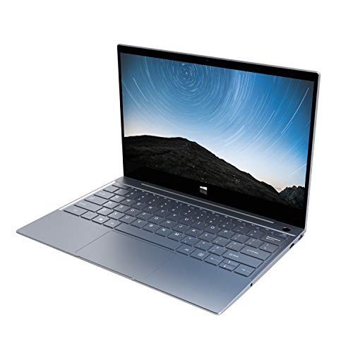 XIDU Notebook Tour Pro - 12,5 Zoll 2K IPS Touch Laptop mit Fingerabdruckleser (Intel 3867U, 8Go RAM, 128Go SSD, Intel HD Graphics, Windows 10) - Space Grau