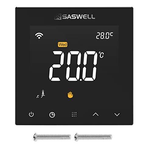 KANGBEI WIFI Thermostatregler für Wasser Fußbodenheizung Raumtemperatur programmierbar