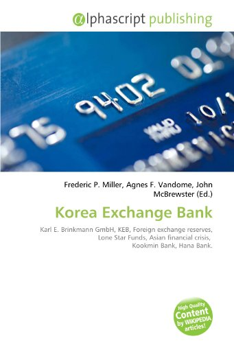 korea-exchange-bank-karl-e-brinkmann-gmbh-keb-foreign-exchange-reserves-lone-star-funds-asian-financ
