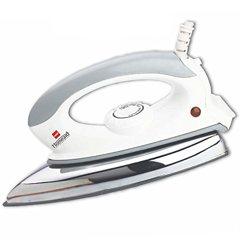 Cello Plug N Press 300 750-Watt Iron (White/Grey)