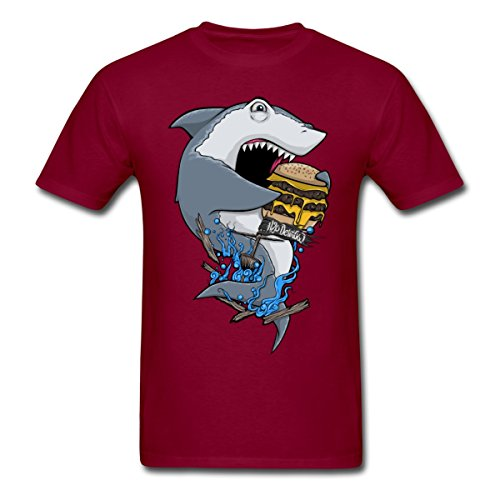Golden dosa H2O Delirious Shark Men's T-Shirt by Spreadshirt™