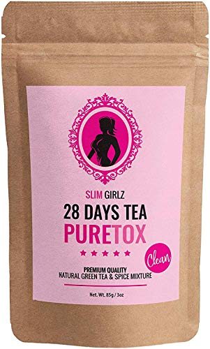 Slim Girlz 28 Days Detox Tea|Té desintoxicante Para