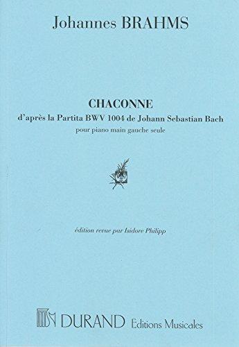5 Études: Chaconne d'Après Bach (Bwv 1004) Piano