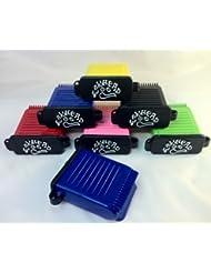 Waxhead - Caja la cera de las tablas de surf Pink Box / Black Comb