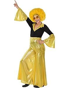 Atosa 28322 - bailarín del disco, muchacha, oro, Gr 104, negro/dorado