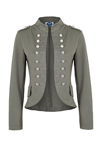 Massimo Military Blazer khaki slim fit, Gr.S