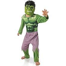 Disfraz clásico Hulk + máscara niño Los Vengadores - 3-4 años